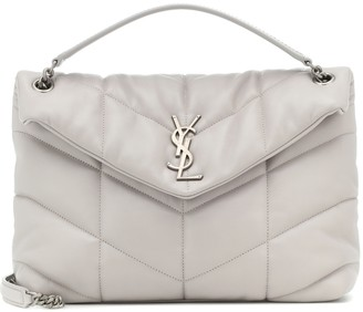 Saint Laurent Loulou Puffer Medium shoulder bag