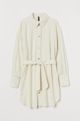 H&M Cotton Shirt Dress