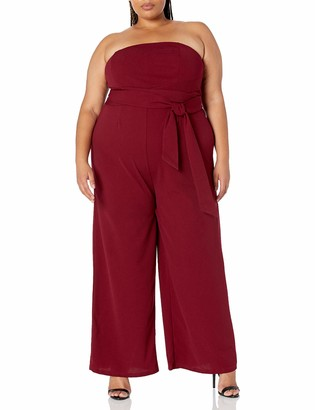 Forever 21 Women's Plus Size Strapless Jumpsuit