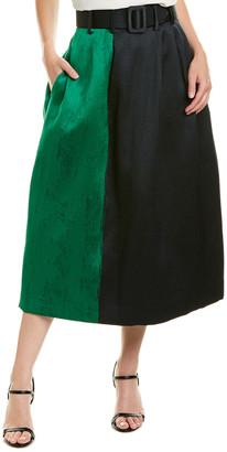 Oscar de la Renta A-Line Skirt