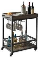Modern Farmhouse Industrial Bar cart in Grey