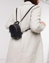 Asos Design DESIGN mini multi way backpack in snake