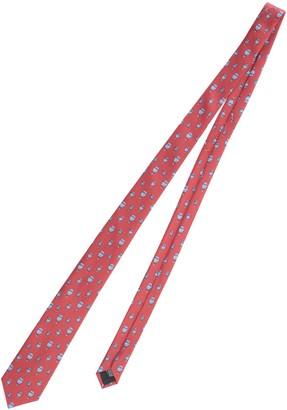 Lanvin Hot Air Balloon Pattern Tie
