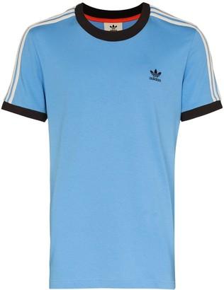 adidas x Wales Bronner embroidered logo T-shirt