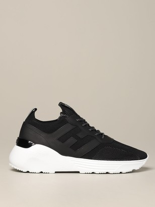 Hogan Sneakers Active 1 Sneakers In Leather And Mesh