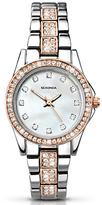 Sekonda 2019.27 Women's Starfall Crystal Bracelet Strap Watch, Silver/Rose Gold