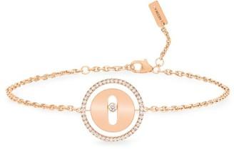 Messika Lucky Move PM 18K Rose Gold & Diamond Bracelet