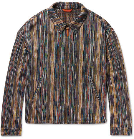 Missoni Cotton-Blend Blouson Jacket