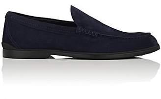 Tod's Men's Suede Venetian Loafers - Navy