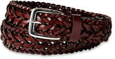 Izod Brown Braided Belt - Boys 8-20