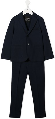Paolo Pecora Kids Two-Piece Tailored Suit