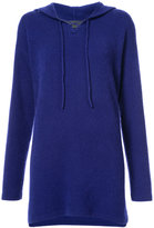 The Elder Statesman relaxed fit knit hoodie