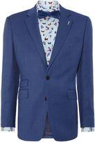 New & Lingwood Balm Birdseye Suit Jacket