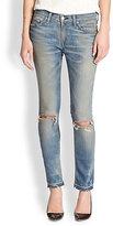 Rag and Bone The Skinny Distressed Jeans