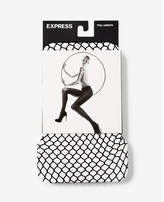 Express large scale full fishnet tights