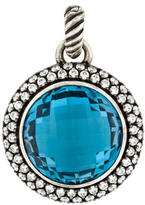 David Yurman Topaz & Diamond Pendant