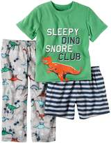 Carter's Boys' 5- 3-Piece Dino Set