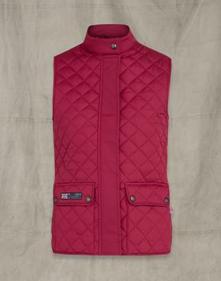 Belstaff Britannia Waistcoat Red UK 4 /