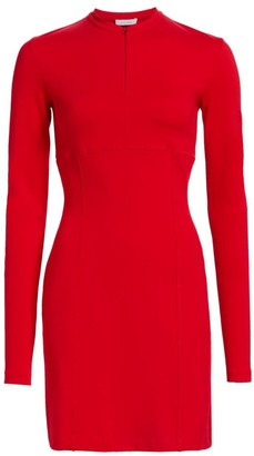 artica-arbox Mockneck Sheath Dress