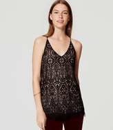 LOFT Stained Glass Lace Cami