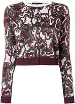 Versace The Wild Side jacquard cardigan