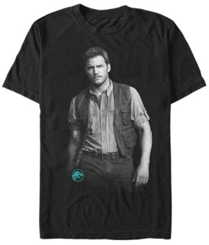Fifth Sun Jurassic World Men's Chris Pratt Swag Short Sleeve T-Shirt