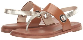 Cole Haan Anera Sandal (Brazilian Sand/Ivory Leather) Women's Shoes