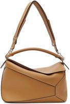Loewe Brown Large Puzzle Bag