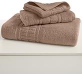 "Martha Stewart CLOSEOUT! Collection Plush 13"" Square Washcloth"