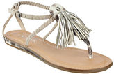 GUESS Frannie Suede Tassle Sandals