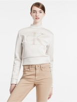 Calvin Klein Jeans Neoprene Logo Sweatshirt