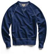 Todd Snyder Japanese Indigo Crew Sweatshirt
