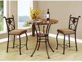 Acme Kleef 3-Piece Brown Bar Table Set