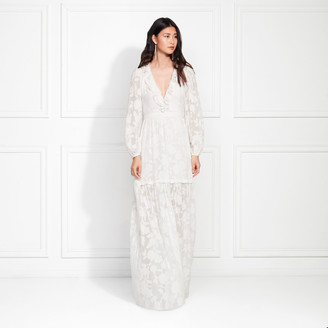 Rachel Zoe Alexis Fil Coupe Maxi Dress