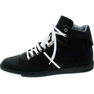 Christian Dior \N Black Leather Trainers