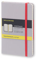 Moleskine NEW Pocket Ruled Aser Grey Contrast Notebook