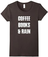 Men's books and coffee shirt Small