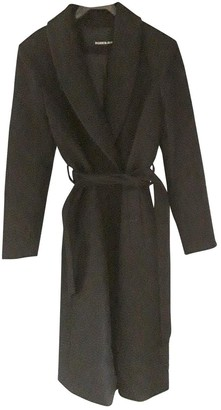 Rodebjer Black Wool Trench Coat for Women
