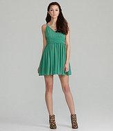 BB Dakota Edie V-Neck Party Dress