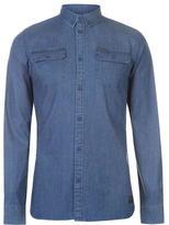 Firetrap Blackseal Denim Shirt
