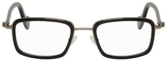 Moncler Gunmetal and Black ML 5026 Glasses