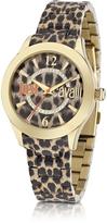Just Cavalli Just Havana Animal Print Stainless Steel Women's Watch