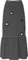 Cynthia Rowley Ava Embellished Knit Midi Skirt