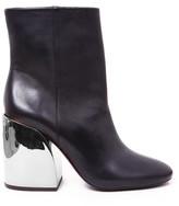 Ivy Kirzhner Carousel Mirror Block Heel Boot