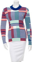 Kenzo Ribbed Mock Neck Top w/ Tags