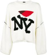 Raf Simons I Heart NY Oversized Sweater