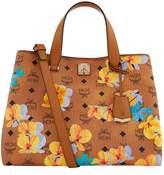 MCM Large Floral Tote Bag