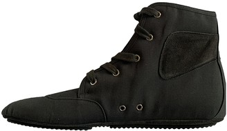 Prada Black Cloth Boots