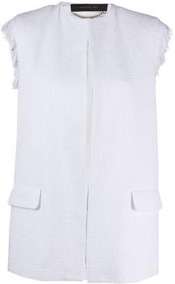 FEDERICA TOSI Fringed Tailored Waistcoat