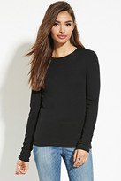 Forever 21 FOREVER 21+ Classic Cotton Tee